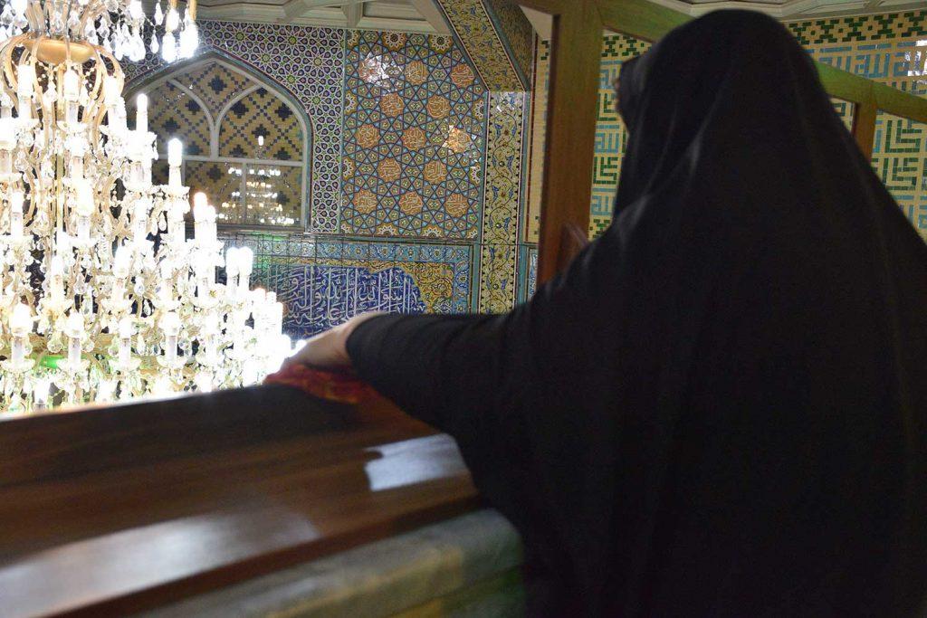 غبارروبی مسجد النبی امیرآبادشمالی