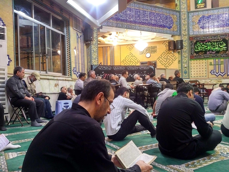 ویژه برنامه ضربت خوردن حضرت علی (ع) در مسجد النبی امیرآباد شمالی