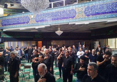 گزارش تصویری عزاداری محرم ۱۳۹۸ در مسجد النبی (ص)امیرآباد شمالی
