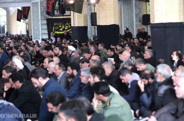 مراسم بزرگداشت شهیدحاج قاسم سلیمانی در مسجد النبی(ص) امیرآبادشمالی