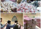بچه های مسجد به خط مقدم مبارزه باکرونا پیوستند